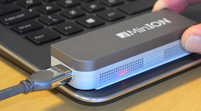 Oxford Nanopore MinIon sequencer